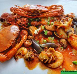 Seafood Ala Louisiana Style