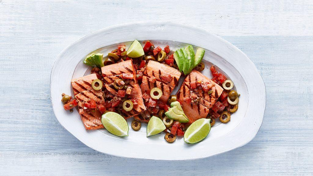 Santap Hidangan Salmon Ala Lousiana