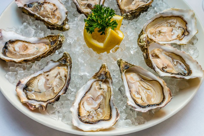 Hidangan Makanan Kerang Laut di Lousiana