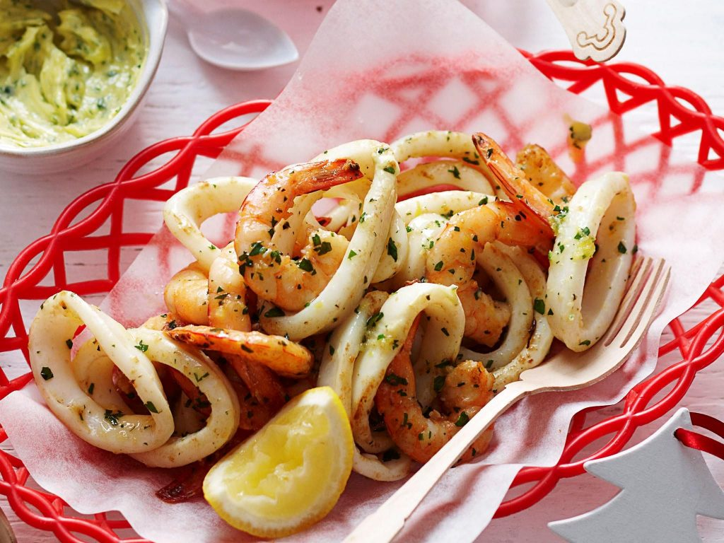 Cumi Cumi Seafood Lousiana Paling Lezat